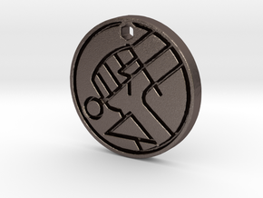 Hellboy BPRD Logo Necklace Replica in Stainless Steel