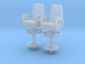 1:72 Scale Captain Chair in Frosted Ultra Detail