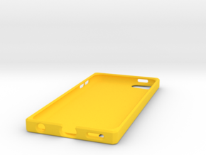 Ipod 5th Case in Yellow Strong & Flexible Polished