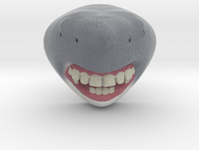 Shark with Human Teeth in Full Color Sandstone