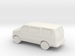 1/87 1995-05 Chevy Astro Van in White Strong & Flexible