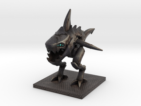 Sharkmech (normal size) in Full Color Sandstone
