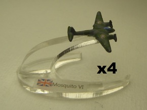 Mosquito FB Mk VI 1:900 x4 in White Strong & Flexible
