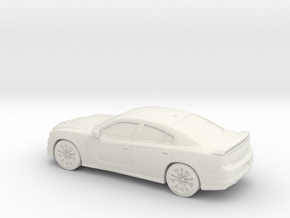 1/87 2012 Dodge Charger SRT in White Strong & Flexible