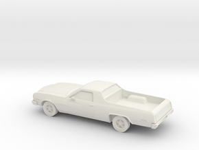 1/87 1976 Ford Rranchero  in White Strong & Flexible