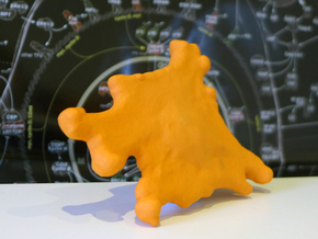 Cancer cell in Orange Strong & Flexible Polished
