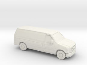 1/87 2008 Ford Econoline in White Strong & Flexible