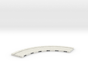 P-165st-long-curve-100r-100-1a in White Strong & Flexible