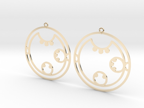 Clara / Klara - Earrings - Series 1 in 14K Gold