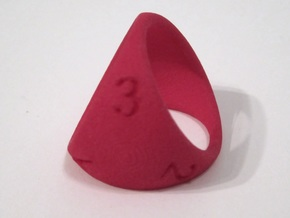 D3 Shell Dice - Gen 2 in Pink Strong & Flexible Polished
