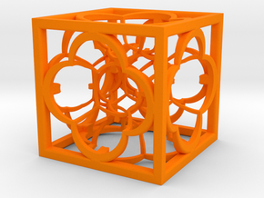 Hyper Menger K5 100mm in Orange Strong & Flexible Polished