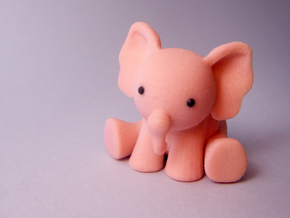Phanpy: The Pink Elephant in Full Color Sandstone