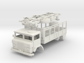 Australian Army ACCO 2 1/2 ton GS(1:20 Scale) in White Strong & Flexible