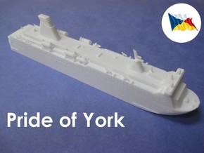 MS Pride of York (1:1200) in White Strong & Flexible