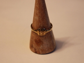 Triss Ring US Size 8 5/8 UK Size R in 18K Gold Plated