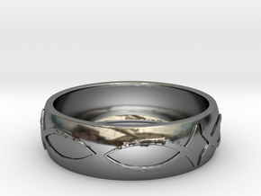 Size 11 Ring  in Premium Silver