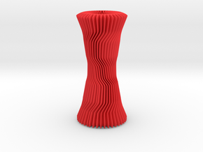 Vase     in Red Strong & Flexible Polished