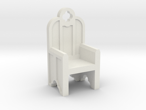 Gothic Chair in White Strong & Flexible