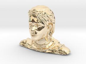 Jeanne d'Arc in 14K Gold