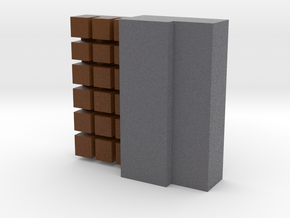 Block Of Chocolate in Full Color Sandstone