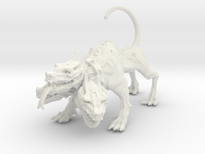 Cerberus 28mm in White Strong & Flexible
