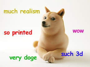 doge in Full Color Sandstone