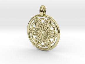 Pasiphae pendant in 18K Gold Plated