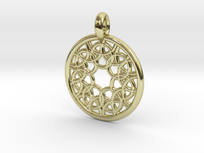 Elara pendant in 18K Gold Plated