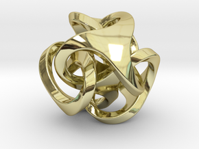 Ora Pendant (smaller) in 18K Gold Plated