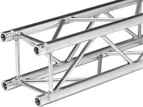 Square truss 1m (1:10 model)  in White Strong & Flexible