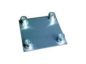 Square truss base plate 1:10 in White Strong & Flexible