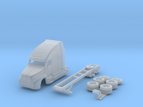 1:160 N Scale Kenworth T2000 Semi Tractor in Frosted Ultra Detail