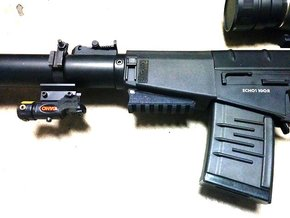 VSS Handguard Picatinny Rail in Black Strong & Flexible
