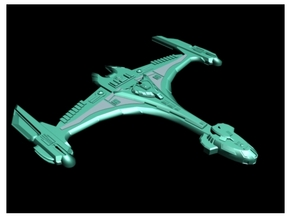 Klingon Kiger Class Medium in White Strong & Flexible