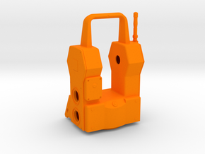 Geodimeter 600 1/4th scale body in Orange Strong & Flexible Polished