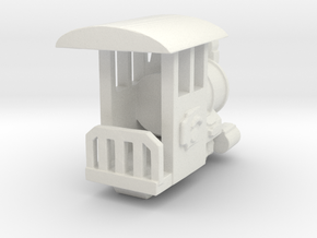 Rio Grande HO scale Engine in White Strong & Flexible