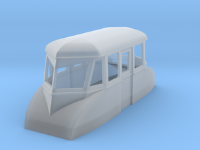 009 streamlined inspection railcar  in Frosted Ultra Detail