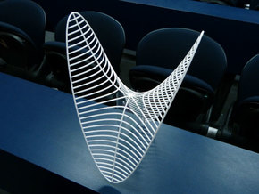 Hyperbolic paraboloid in White Strong & Flexible