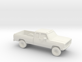 1/87 1972 Dodge Ram Ext. Cab in White Strong & Flexible