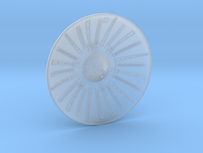 MILLENNIUM REBELL 1/275 RADAR DISH in Frosted Ultra Detail