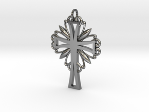 Decorative Cross in Premium Silver