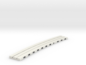 P-9stp-curve-565r-100-pl-1a in White Strong & Flexible
