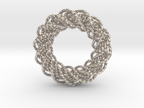 An Homage to Pi in Rhodium Plated