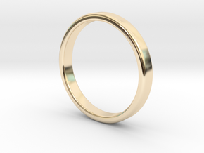 Basic Ring Band Size 8 in 14k Gold Plated