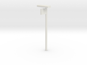 DSB Stations lampe med perronafsnit VIA 1/87 in White Strong & Flexible