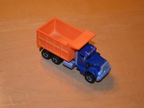 Hotwheels Mack Truck Dumpbed V2.0 in White Strong & Flexible