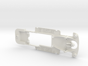 SCX StockCar - 3 hole mounting in White Strong & Flexible