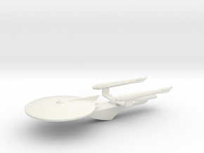 Tos Era Excelsior Prototype in White Strong & Flexible