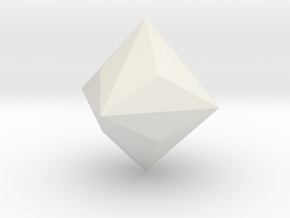 Triakis-octahedron in White Strong & Flexible