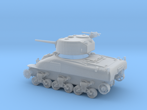 US M4A1 Sherman 75mm 1:100 15mm in Frosted Ultra Detail